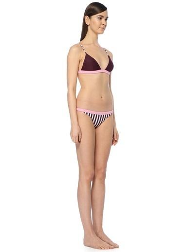 Rye Bikini Üst Bordo
